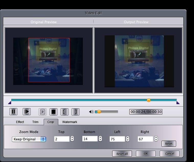 How to convert M2TS files on windows and Mac Crop-mac